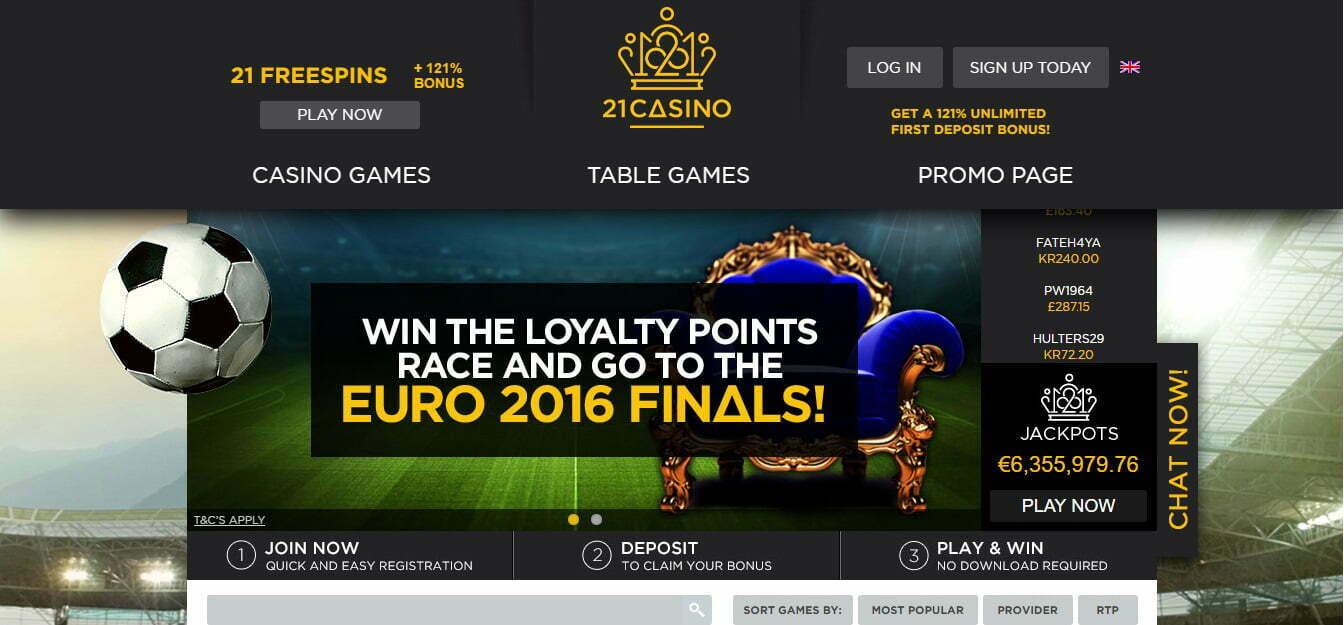 21 casino 1